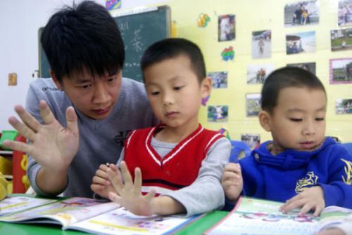 幼师专业学生风采