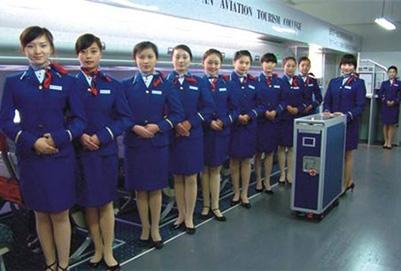 重庆高铁学校高铁乘务专业学生学习课程