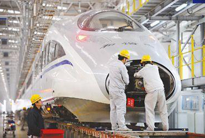 成都郫县机电工程学校的动车站检修技术专业